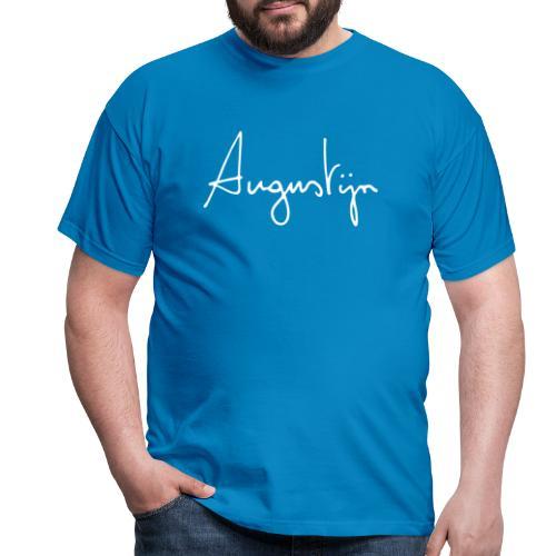 augustijn vermandere logo wit - Mannen T-shirt