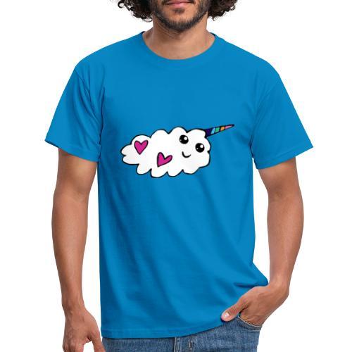 Nuage licorne Kawaii - T-shirt Homme