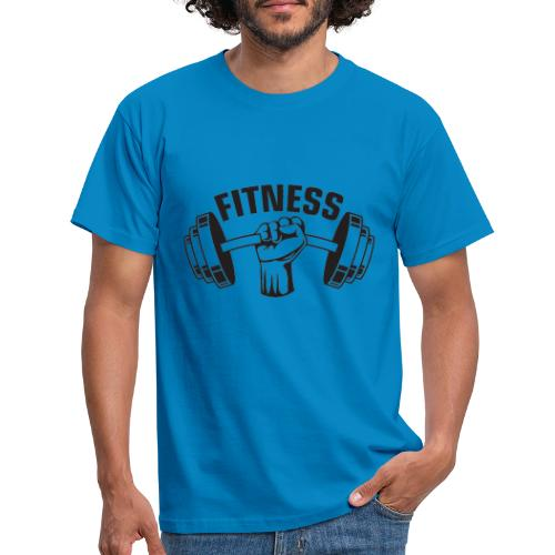 FITNESS - Herre-T-shirt