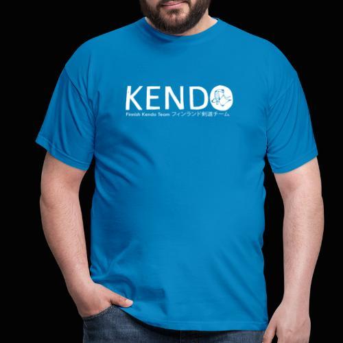 Finnish Kendo Team Text - Miesten t-paita