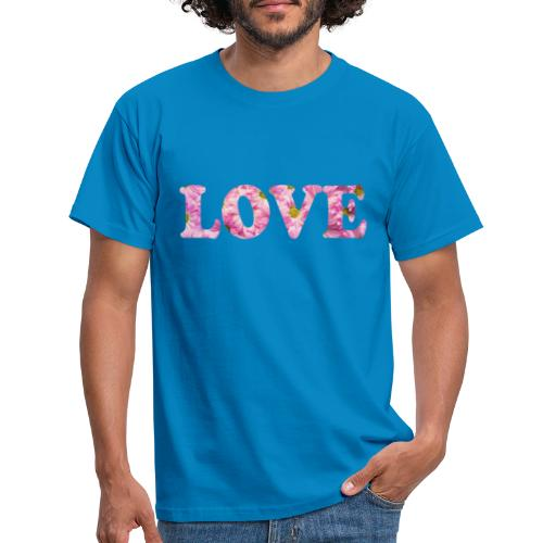 Love with tulipes - T-shirt Homme