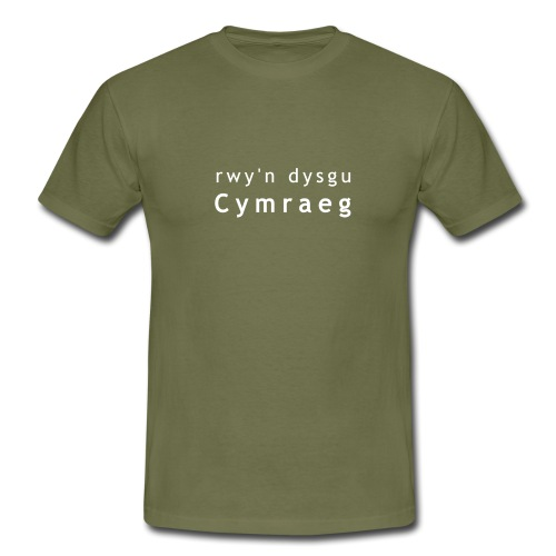 rwy'n dysgu Cymraeg - Men's T-Shirt