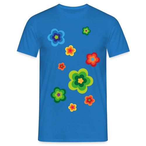 Limited edition 01 Flowerpower - Männer T-Shirt