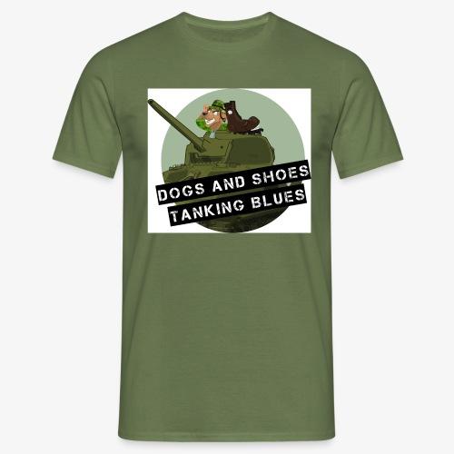 logo dogs nieuw - Mannen T-shirt