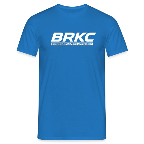 BRKCNewLogoWhite - Men's T-Shirt