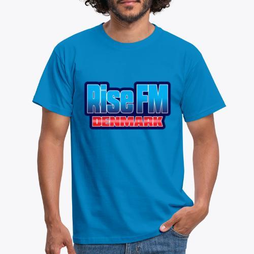 Rise FM Denmark Text Only Logo - Herre-T-shirt