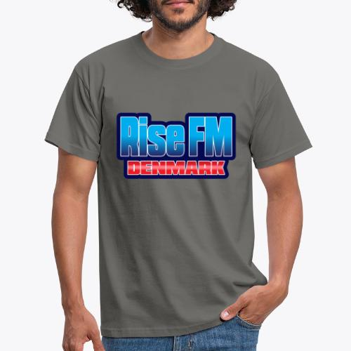 Rise FM Denmark Text Only Logo - Herre-T-shirt