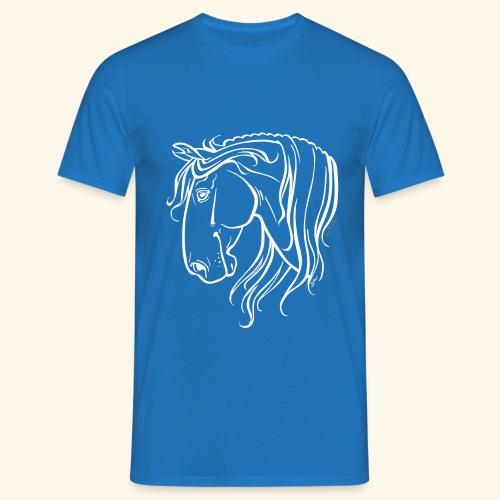 Cheval espagnol (blanc) - T-shirt Homme