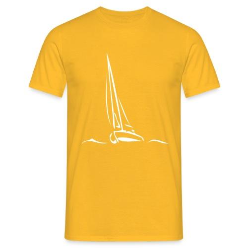 Segelboot - Männer T-Shirt
