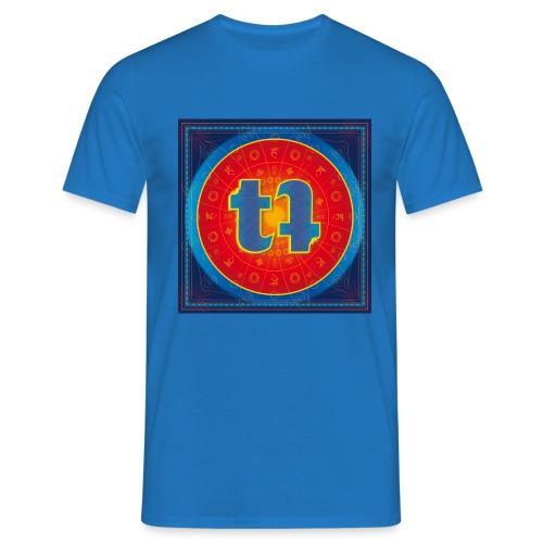 turn turQuoise Logo - Männer T-Shirt