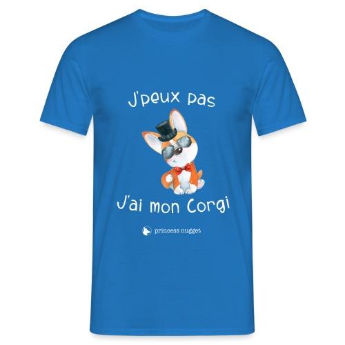 J'Peux pas jais mon corgi - T-shirt Homme