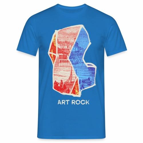 ART ROCK No 3 colour - Mannen T-shirt