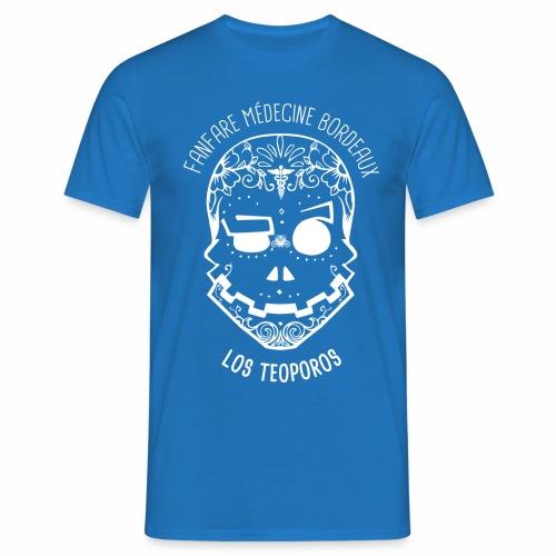 LOGO Calavera Positif Blanc - T-shirt Homme