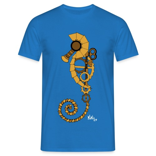 Caballito de mar Steampunk - Camiseta hombre
