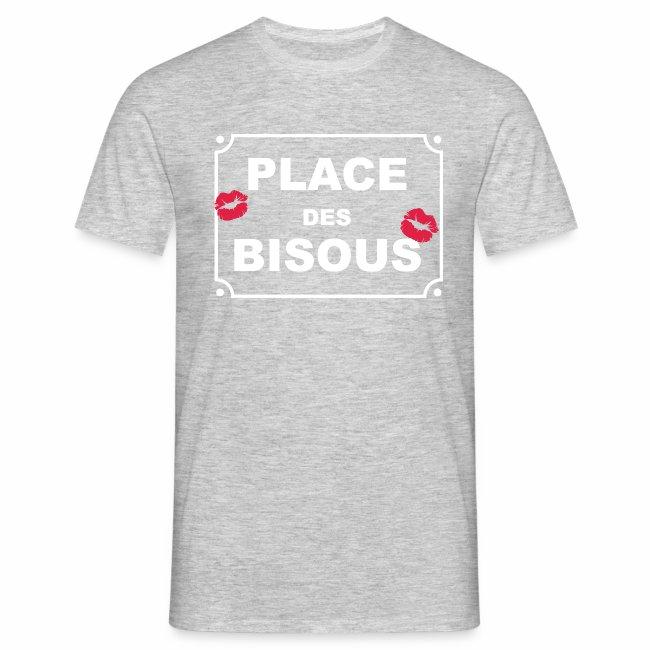 place des bisous