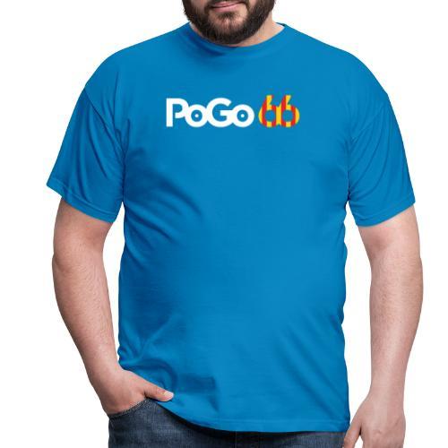 PoGo66 (texte seul) - T-shirt Homme