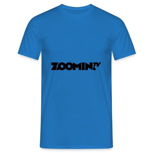 4658 2CZoomin BW logo - Men's T-Shirt