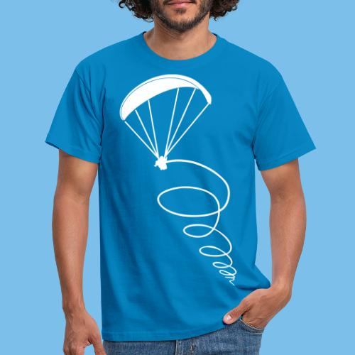 Paragliding Thermik Geschenk Pilot - Männer T-Shirt