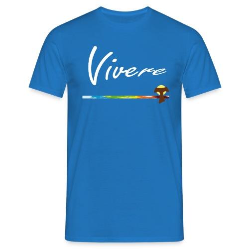 Vivere Font Logo - Männer T-Shirt
