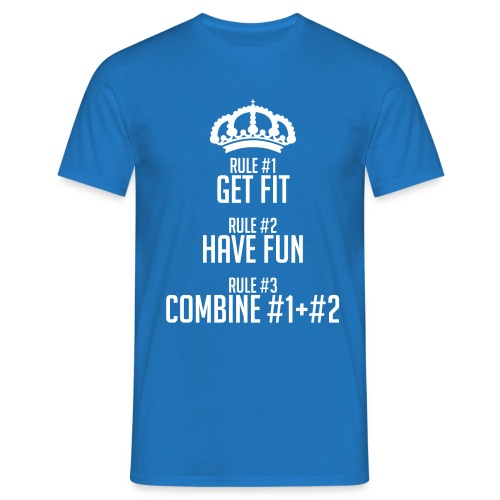 FITNESS RULES - Camiseta hombre