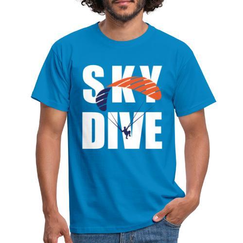 SkyDive - Männer T-Shirt