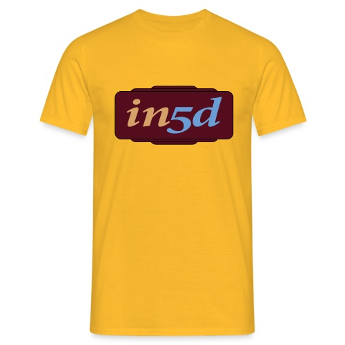 In5d - Herre-T-shirt