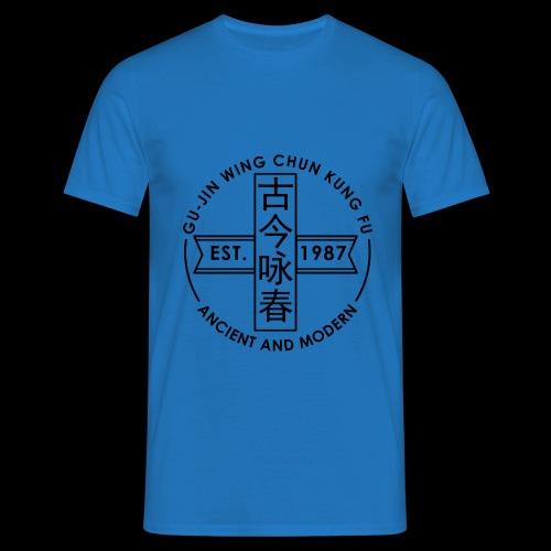 circular logo - Men's T-Shirt