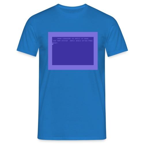 c64 Startscreen - Männer T-Shirt