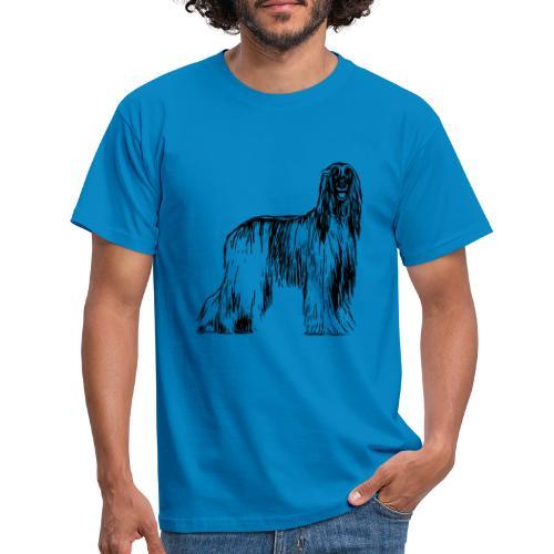 Afghane Afghanischer Windhund Design Geschenkidee - Männer T-Shirt