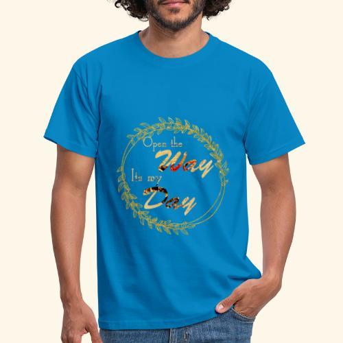 its my day weddingcontest - Men's T-Shirt
