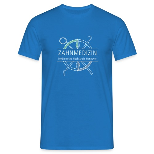 Zahnmedizin Hannover (weiß) - Männer T-Shirt
