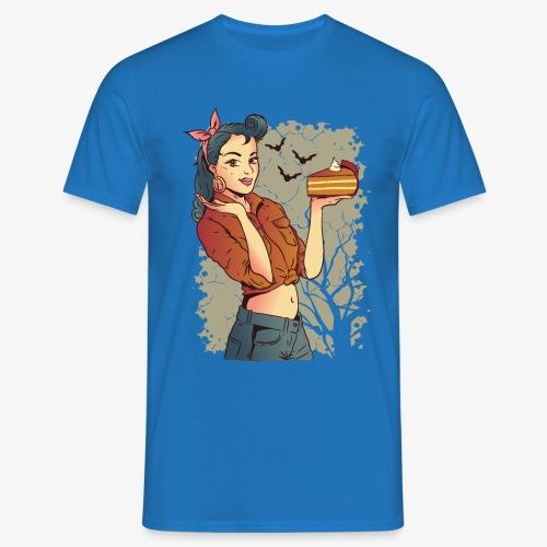 Pin-up Pumpkin Pie - Men's T-Shirt