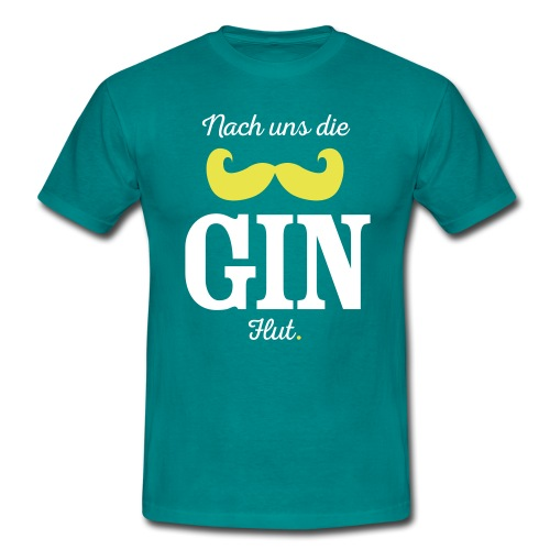 Nach uns die Gin-Flut - Männer T-Shirt