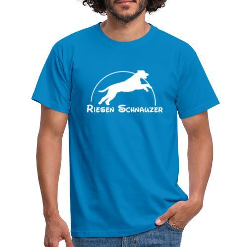 Schnauzer / Riesenschnauzer Hunde Design Geschenk - Männer T-Shirt