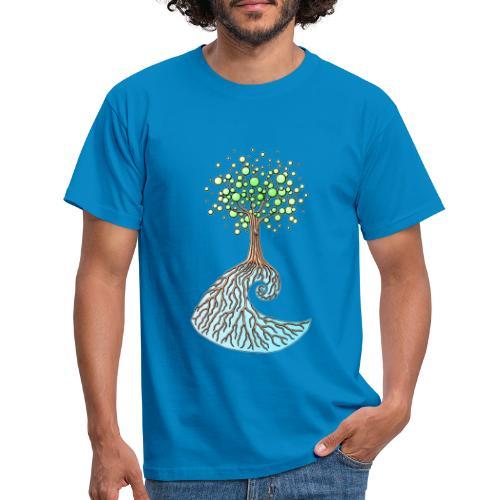 Wellenbaum - Männer T-Shirt