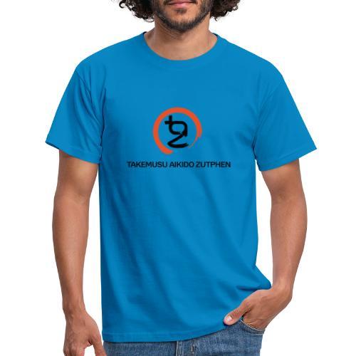 TAZ Logo Enso - Mannen T-shirt