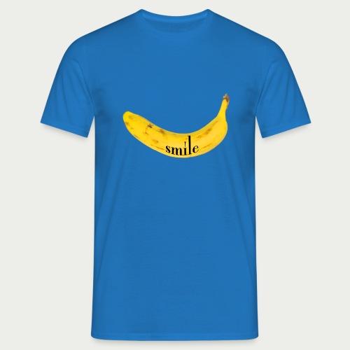 Bananen Smile - Männer T-Shirt