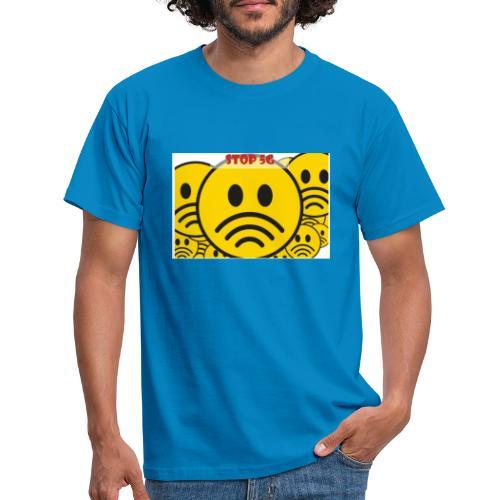 Stop ✋ T-shirt - Männer T-Shirt