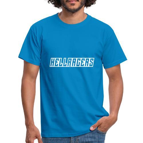 HELLRACERS TEXT - T-shirt herr