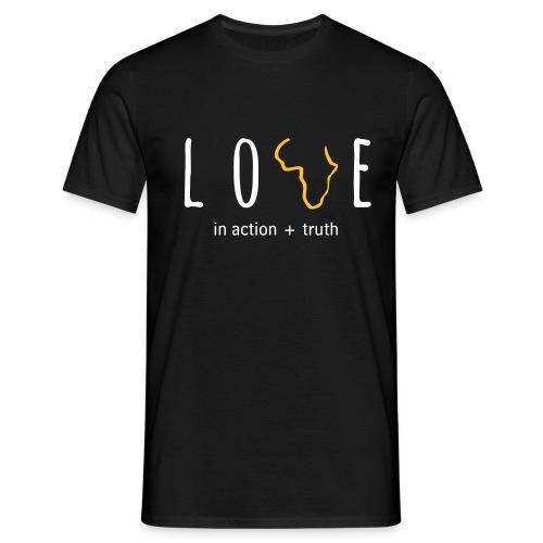 LOVE in Action - Men's T-Shirt