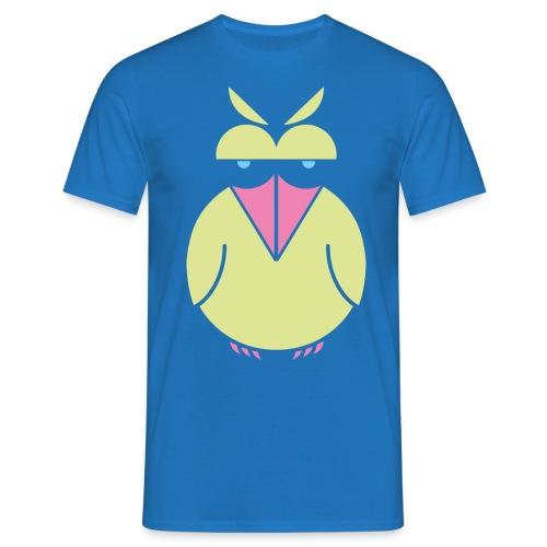 insolent bird_greenneon - Männer T-Shirt