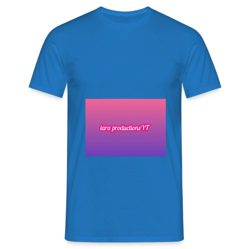 lara banner - Men's T-Shirt