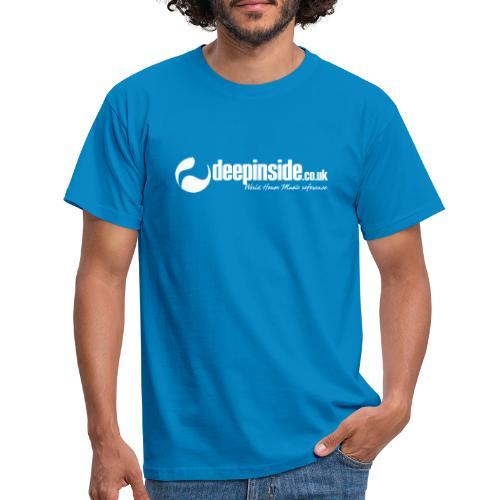 DEEPINSIDE World Reference logo white - Men's T-Shirt