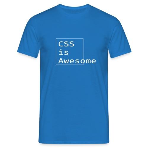 cssawesome - white - Mannen T-shirt