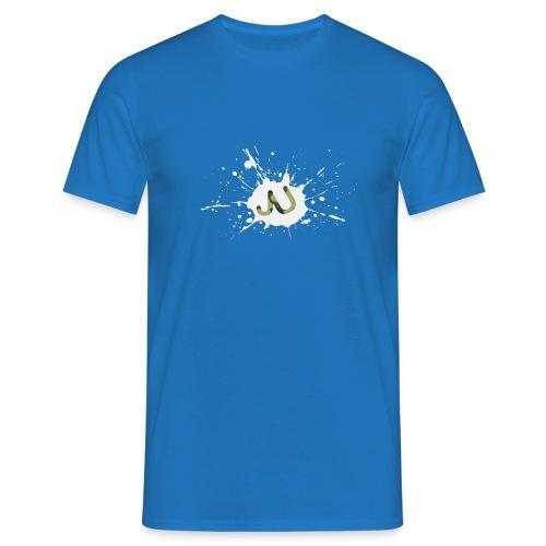 logo2 6 pinkki - Miesten t-paita