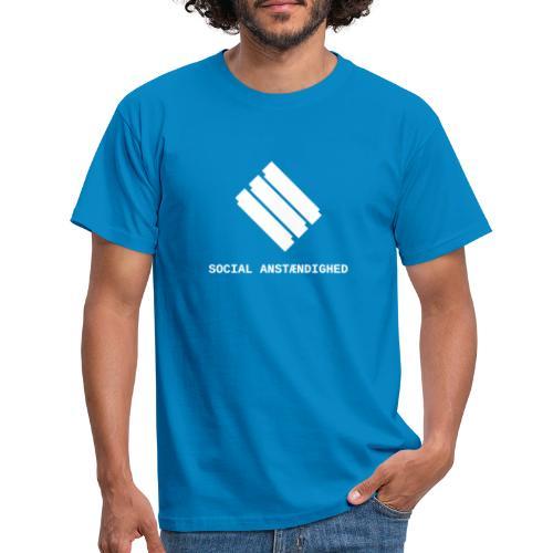 logo transparent hvid - Herre-T-shirt