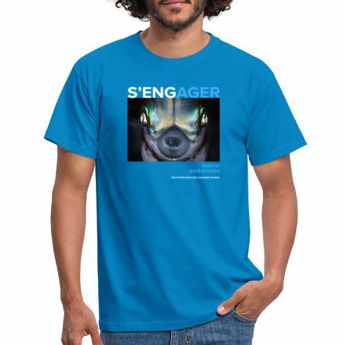 1 Achat = 1 Don à l'association Deep blue explore - T-shirt Homme