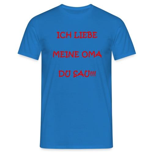 Anti-Omasau - Männer T-Shirt