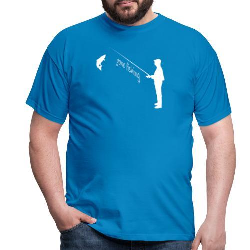 Angler gone fishing - Männer T-Shirt