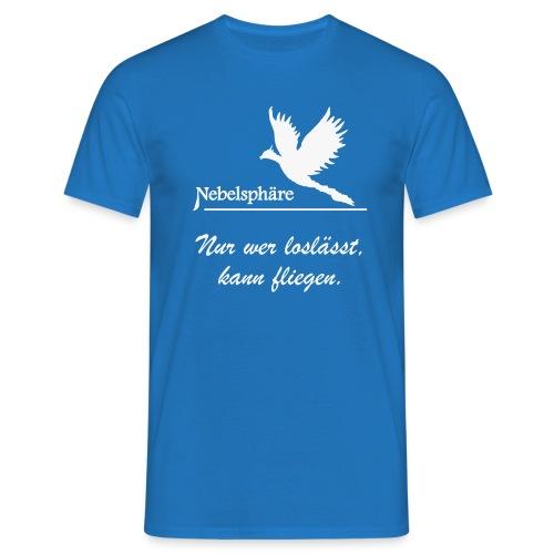 Phönix T Shirt loslassen svg - Männer T-Shirt
